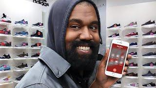 Kanye West Calls The Nike Store