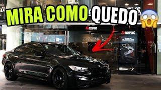 LLEVAMOS A DETALLAR EL BMW M4    ALFREDO VALENZUELA
