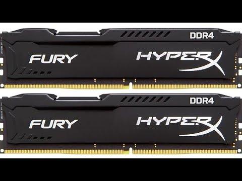 Оперативная память Kingston HyperX Fury DDR4 3200 MHz. Субъективное мнение.