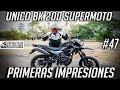 Unico BK 200 Supermotard | Primeras impresiones