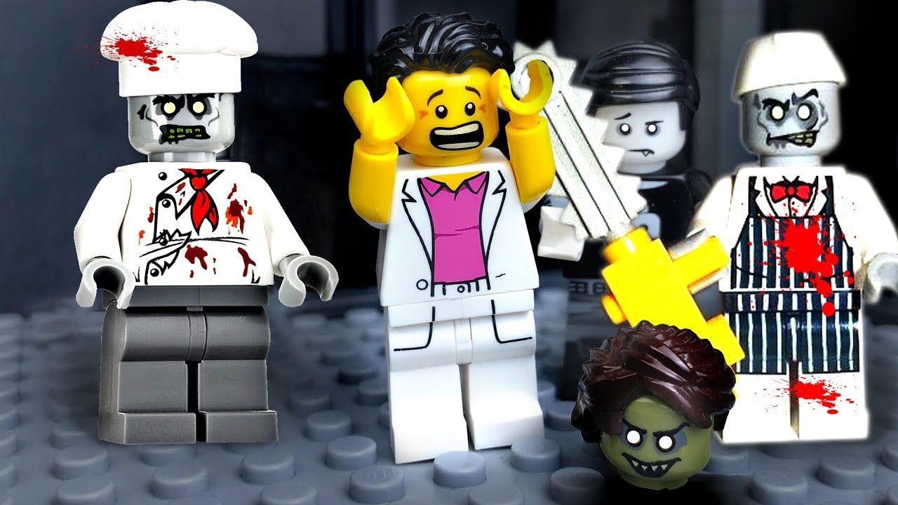 Lego Zombie Attack 🔴 Zombie Virus in Lego City  🧟 💥