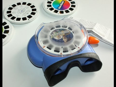 Viewmaster 3D Virtual Top Load Viewer - Fisher Price 2002 [HD]