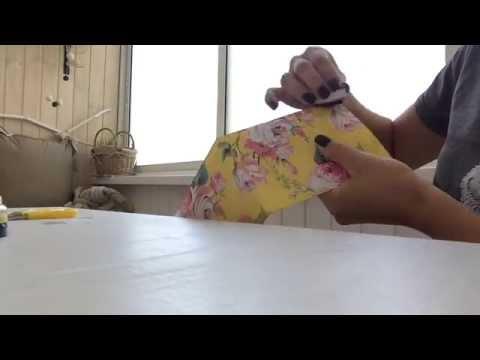 Как сделать открытку или сертификат scrapbooking DIY