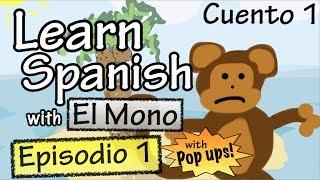 Baixar Learn Spanish with El Mono - Episode 1 - With Grammar Pop-Ups!