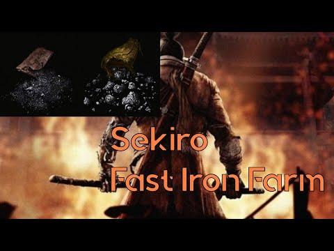 Sekiro Easy Scrap Iron Farm (Up to 4 per minute)