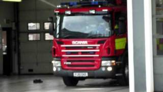 Notts Fire and Rescue emergency call