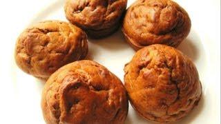 Banana Muffins (eggless) - Eggless Baking Recipes
