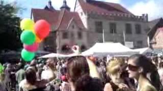 Seifenblasen-Flashmob Göttingen 2011