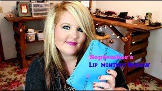 Lip Monthly Subscription box -September 2014 Thumbnail