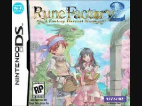 Rune Factory 2 music - Palermo Temple
