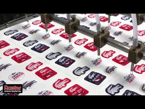 EPOXY STICKERS - manufacturing process