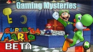 Gaming Mysteries: Super Mario 64 Beta Redux (N64)