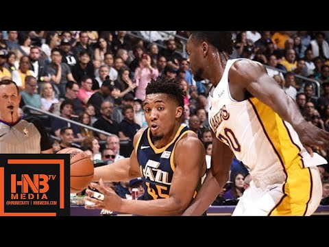 Los Angeles Lakers vs Utah Jazz Full Game Highlights / April 8 / 2017-18 NBA Season