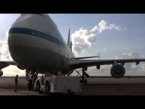NASA 747 Shuttle Carrier Aircraft (N905NA) Tow