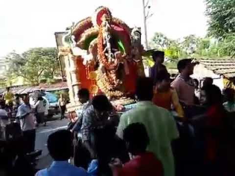 Bansberia Babu Jagjivan Ram Club Ganesh visharjan 2016