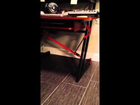 On Stage Studio Desk Stabilization
