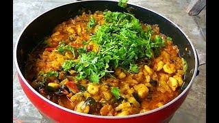 Video Prawns with Raw Mango curry recipes south Indian style || Prawns Curry Coriander leaves download MP3, 3GP, MP4, WEBM, AVI, FLV Mei 2018