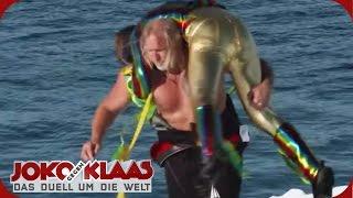 Grönland: Joko & Klaas im Eisschollen Wrestling-Match | Joko gegen Klaas - Das Duell um die Welt |