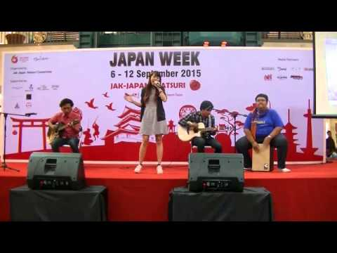 Angelina - Butterfly (OST Digimon cover) @ Japan Week Jak Japan Matsuri 2015