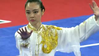 Download Video [Asian Games 2018] Lindswell Lindswell (INA) - Women's Taiji - 1st - 9.75 -= Wushu =- MP3 3GP MP4