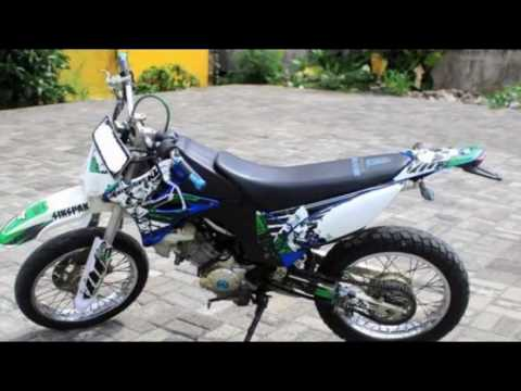 Video Motor Bebek Yamaha Jupiter Mx 2006 Modifikasi Trail