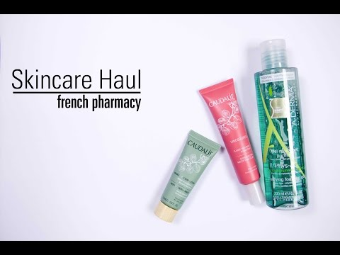 Skincare Haul, French Pharmacy || The Very French Girl