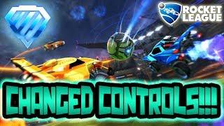 CHANGED MY CONTROLS!!! | Rocket League PC | SUB = SHOUTOUT!!!!