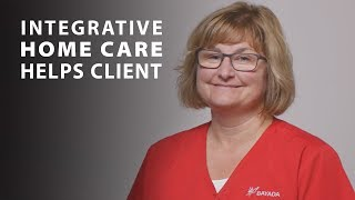 Integrative Home Health Care Helps Client Who is a Falls Risk