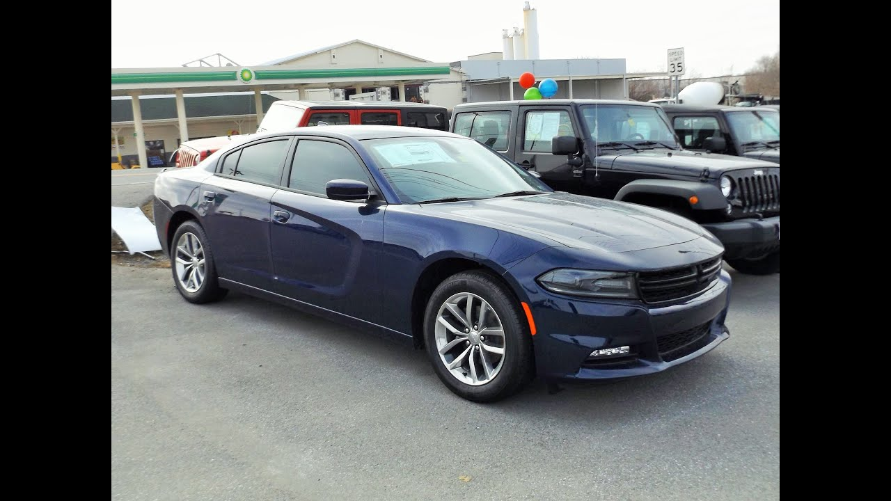 2015 Dodge Charger SXT Plus Start Up, Tour and Review ...