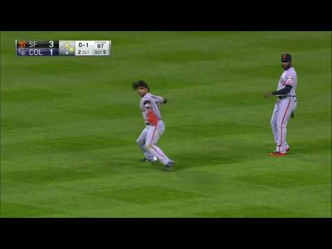 Angel Pagan: Outfield Assists