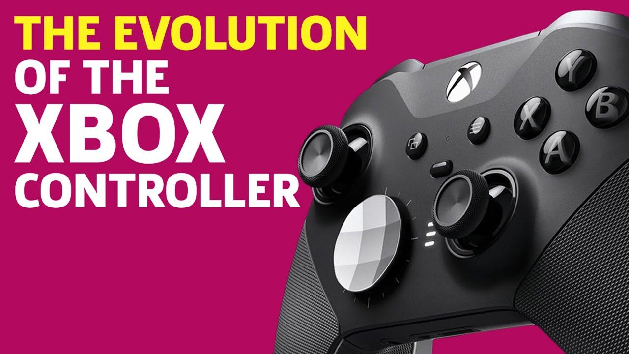 The Evolution of the Xbox Controller - GameSpot