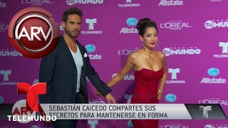 El actor Sebastián Caicedo habla de su figura | Al Rojo Vivo | Telemundo