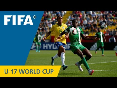 Highlights: Brazil v. Nigeria - FIFA U17 World Cup Chile 2015