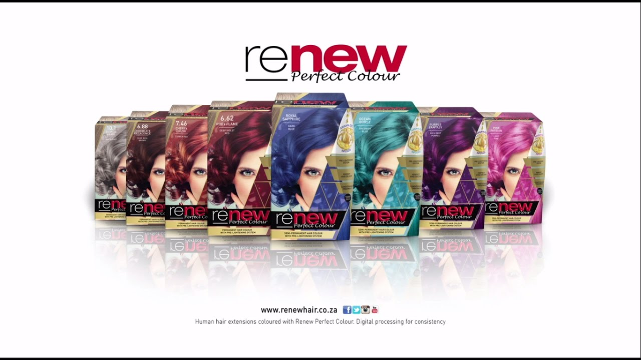 Renew Perfect Colour YouTube