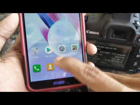 How To Connect Canon 1300d To Smart Phone (WIFI/NFC) | MALAYALAM | RICHU TECH TIME