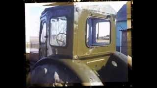 Тюнинг, ремонт и покраска трактора Т-40(Здесь полностью самодельный капот, крыша и передние крылья. Далее выравнивание вмятин по всей кабине, покра..., 2014-06-17T02:23:17.000Z)