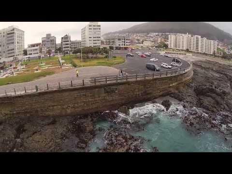 DRONED -- Ocean promenade.