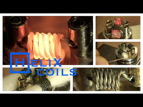 How to Build a Helix Coil