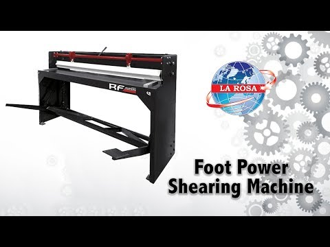 Foot Power Shearing Machine - Q11 - 1.2X1300