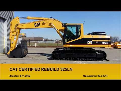 Certifikovaná Prestavba CCR Pásového Rýpadla Cat 325LN