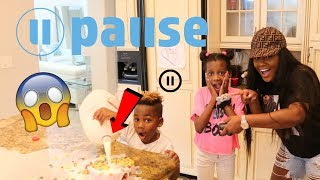 Pause Challenge For 24 Hours