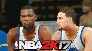 NBA 2K17 Gameplay - 2004 Detroit Pistons vs Golden State Warriors