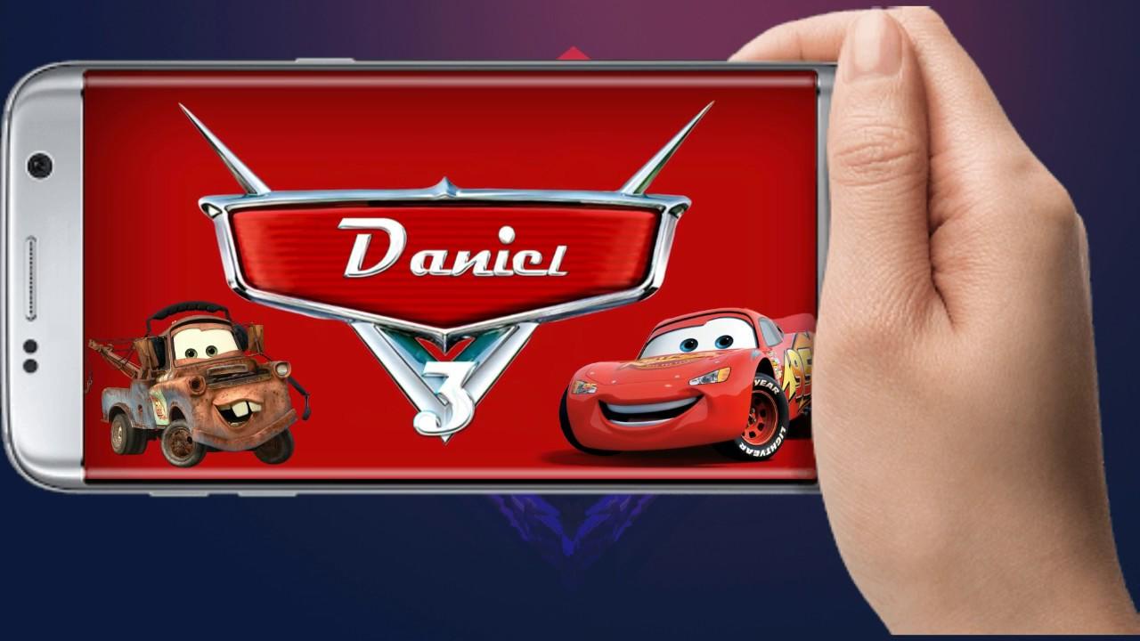 Tarjeta Invitación Cars Videoinvitación