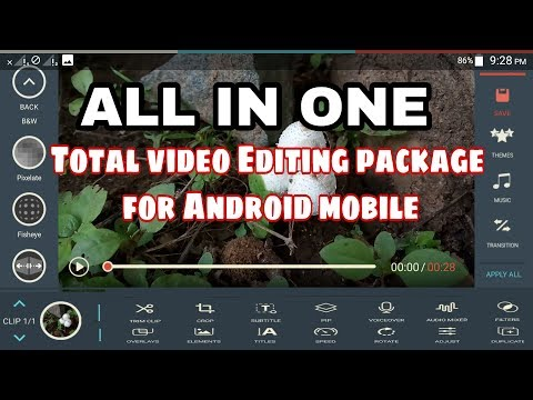 Best video Editing app for Android mobile 2017 !! Edit videos for YouTube, Facebook !! filmora go !