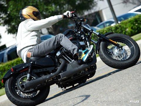 Harley-Davidson Sportster Exhaust Shootout 2012 - MotoUSA