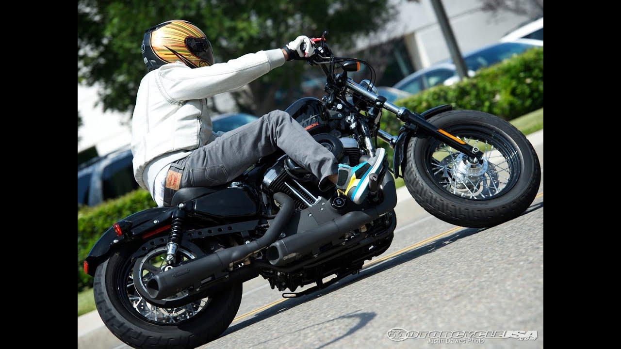 harley davidson sportster exhaust shootout 2012 motousa