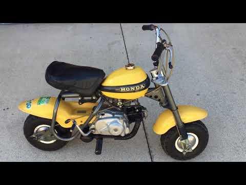 Honda QA50 K0, original owner bought it Feb 1972