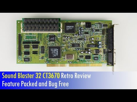 Sound Blaster 32 CT3670 ISA Sound Card Review for DOS Games