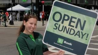TD Bank at 1325 Hudson Street Sunday Hours