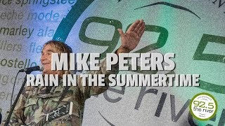 "Mike Peters performs ""Rain in the Summertime"""